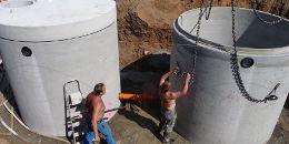 LKW Waschanlage Wassertank